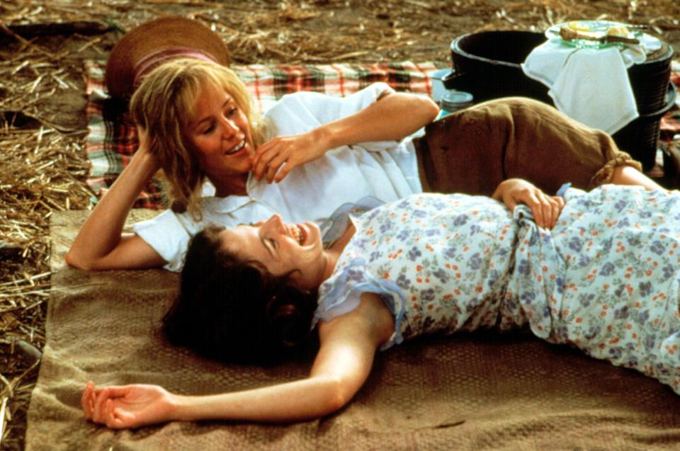 <p><strong><em>Fried Green Tomatoes</em></strong>(1991)</p><p>Each Wednesday, Evelyn Couch (Kathy Bates) accompanies her grump of a husband to visit his mean old aunt at the nursing home. While there, Evelyn meets a kind woman, Ninny (Jessica Tandy), with whom she can have an actual conversation (something she can't have with her husband). Ninny tells her the story of a now-abandoned town called Whistle Stop, Alabama and the women who ran the cafe near the train station — Idgie (Mary Stuart Masterson) and Ruth (Mary Stuart Masterson).</p><p><strong>Why You Should Watch It:</strong> Are they friends? Are they more than friends? The bond between Ruth and Idgie heads into unclassifiable territory. They are there for each other. <em>Fried Green Tomatoes</em> is a lovely, if totally romanticised, portrait of friendship, both between Ruth and Idgie and between Evelyn and Ninny.</p>