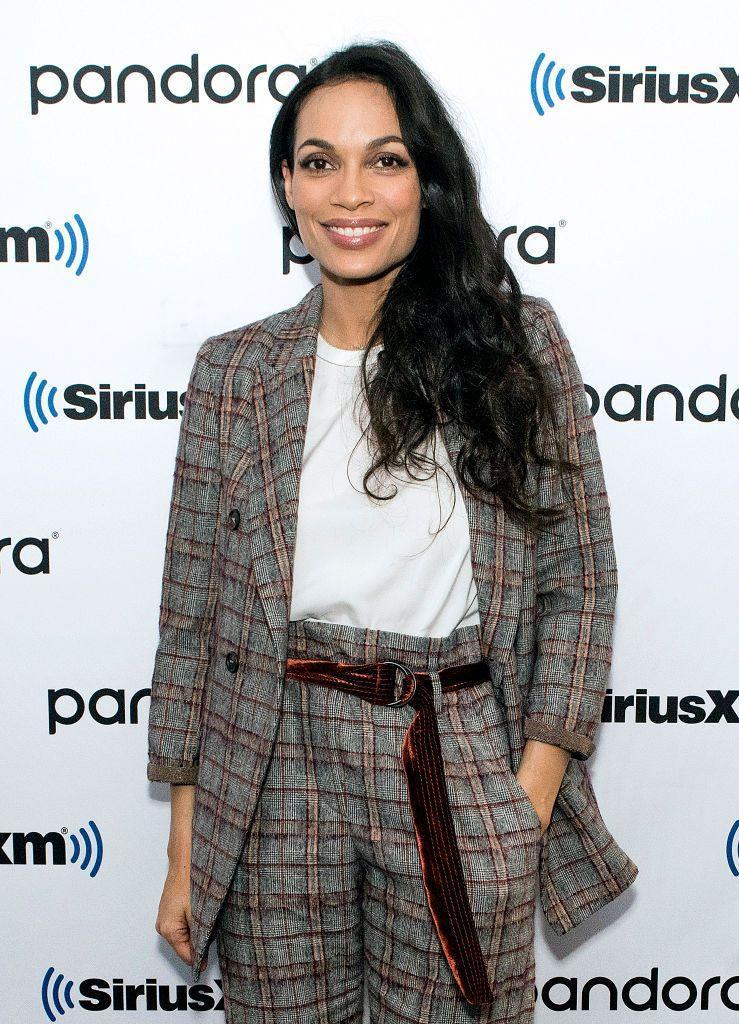 """<p>The actress, activist, producer, and <a href=""""https://www.oprahdaily.com/entertainment/a28248781/cory-booker-rosario-dawson-relationship-timeline/"""" rel=""""nofollow noopener"""" target=""""_blank"""" data-ylk=""""slk:girlfriend to Sen. Cory Booker"""" class=""""link rapid-noclick-resp"""">girlfriend to Sen. Cory Booker</a> is half Irish/Native Indian and half Puerto Rican/Afro-Cuban, <a href=""""https://twitter.com/rosariodawson/status/345243588780781568"""" rel=""""nofollow noopener"""" target=""""_blank"""" data-ylk=""""slk:according to a 2013 tweet."""" class=""""link rapid-noclick-resp"""">according to a 2013 tweet. </a> </p><p>Dawson was also the voice of La Boriqueña, an Afro-Puerto Rican superhero who gets her super powers from her <a href=""""https://www.nbcnews.com/news/latino/superhero-la-borinque-smithsonian-we-speak-her-proud-creator-n1010896"""" rel=""""nofollow noopener"""" target=""""_blank"""" data-ylk=""""slk:Taino ancestors"""" class=""""link rapid-noclick-resp"""">Taino ancestors</a>, in a 2020 <a href=""""https://www.youtube.com/watch?v=CqgBYpnZIbM"""" rel=""""nofollow noopener"""" target=""""_blank"""" data-ylk=""""slk:voter turnout campaign"""" class=""""link rapid-noclick-resp"""">voter turnout campaign</a>. You can also see Dawson among a crowd of protestors on the cover of a <a href=""""https://twitter.com/rosariodawson/status/1250517261179211776"""" rel=""""nofollow noopener"""" target=""""_blank"""" data-ylk=""""slk:special edition of the La Borinqueña"""" class=""""link rapid-noclick-resp"""">special edition of the La Borinqueña</a>.</p>"""