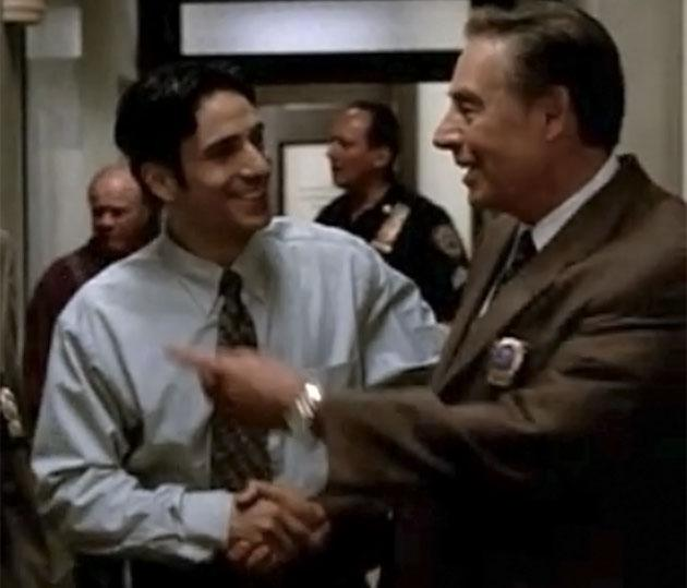"""Chris Orbach and Jerry Orbach on """"Law & Order"""""""