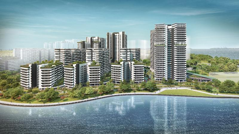 Punggol Point Cove. (ILLUSTRATION: Housing and Development Board)