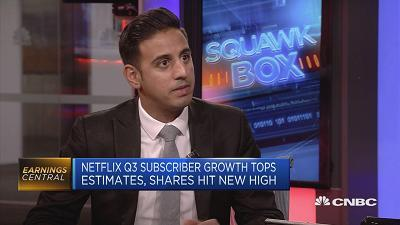 CNBC's Arjun Kharpal discusses Netflix's strategy as the platform grows by more than 5 million subscribers worldwide in the third quarter of this year.