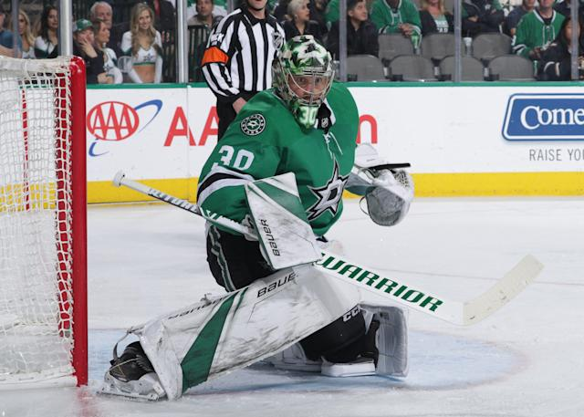 Ben Bishop has been clearly the best player on Dallas this season. (Photo by Glenn James/NHLI via Getty Images)