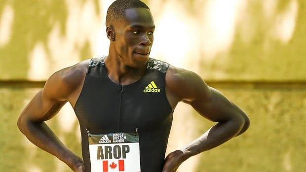 Edmonton's Marco Arop is looking to build on his recent success in 800m, as the sprinter makes his Olympic debut. (Adam Glanzman/Getty Images - image credit)