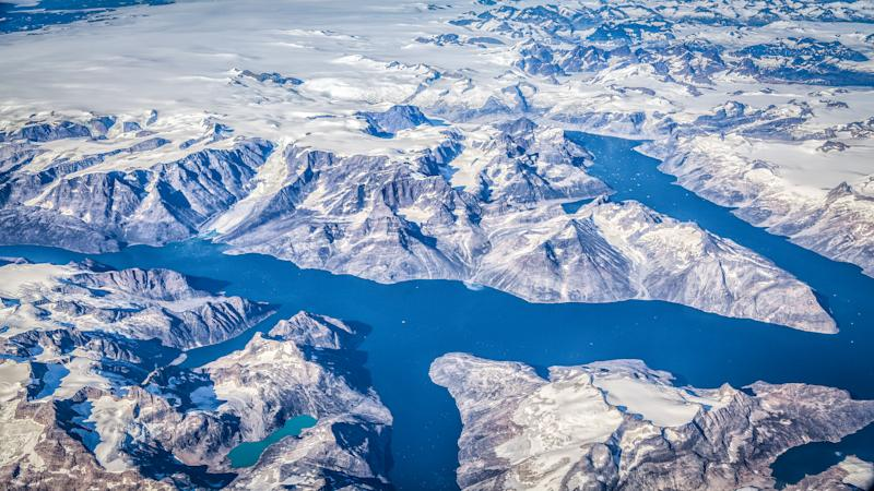 Research: NASA finds possible second impact crater under Greenland ice