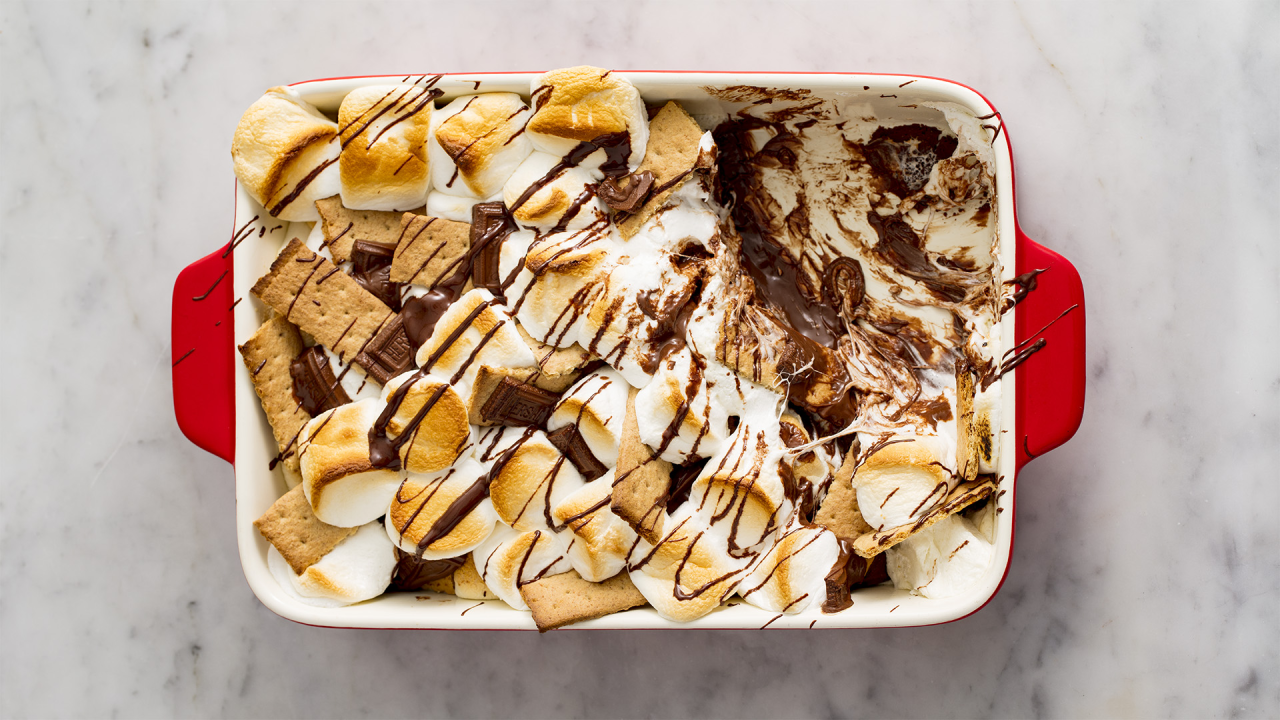 <p>They'll have you begging for, well, you know... Get excited for these delicious s'mores-inspired dessert recipes.</p>