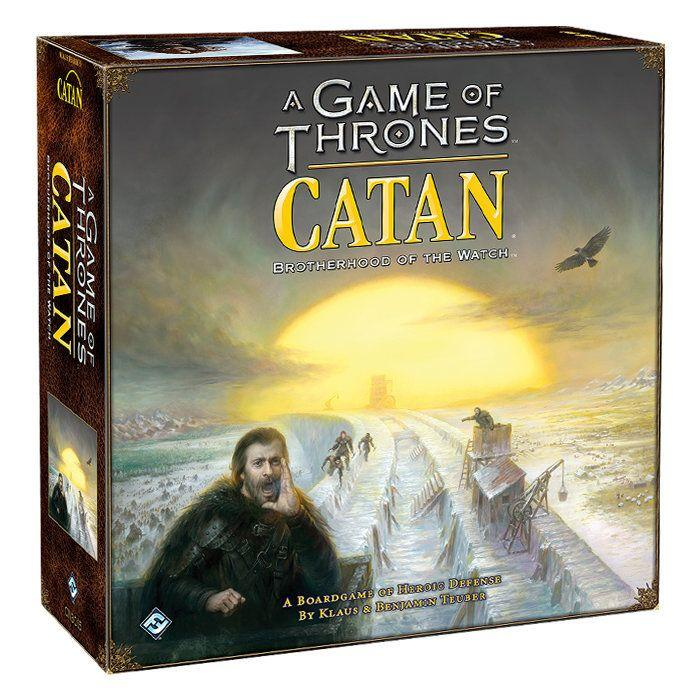 A 'Game of Thrones' inspired version of the popular Catan game (Photo: ThinkGeek)