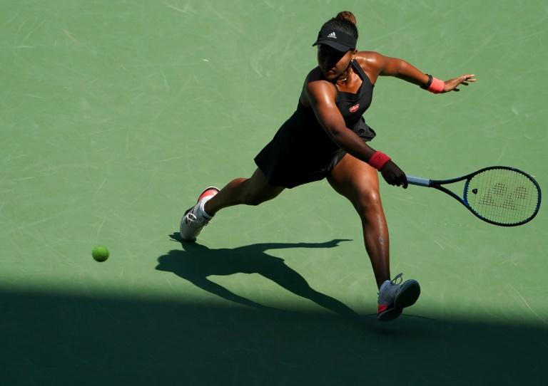 Out of the shadows: Naomi Osaka hits a return to Aryna Sabalenka
