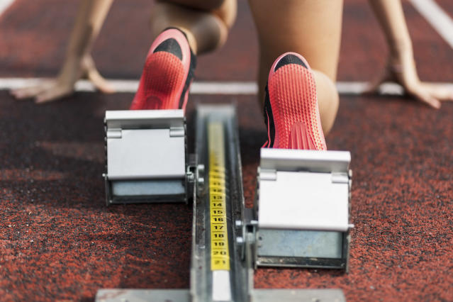 More states are advancing legislation aimed at preventing transgender girls from competing on women's teams. (Getty Images)