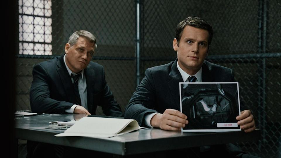 <p> A period piece with no corsets or lofty accents, you say? Mindhunter hails from David Fincher and sets about recreating the fledgling days of serial killer profiling at the FBI. This is not your typical weekly crime procedural. Instead, this dark gem opts for the long, slow burn as Jonathan Groff&#x2019;s eager agent and his disgruntled colleague (Holt McCallany) stray into dangerous territory: interviewing incarcerated serial murderers. Based on the true story of the first FBI profiler, his personal story is interwoven perfectly during the course of the first season, which tells episode after episode of rich, textured storytelling that&#x2019;ll get under your skin and stay there. </p> <p> Decades of crime entertainment &#x2013; ahem, CSI &#x2013; have turned all of us into armchair sleuths, and the majority of movies and shows know that. Mindhunter is rewarding as hell to watch for entirely the opposite reason. You&#x2019;ll be shouting at the TV as the two agents apply their newly-founded techniques to catch active killers. </p>