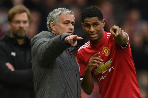 Tottenham manager Jose Mourinho comes up against a former pupil, Manchester United's Marcus Rashford, on Friday