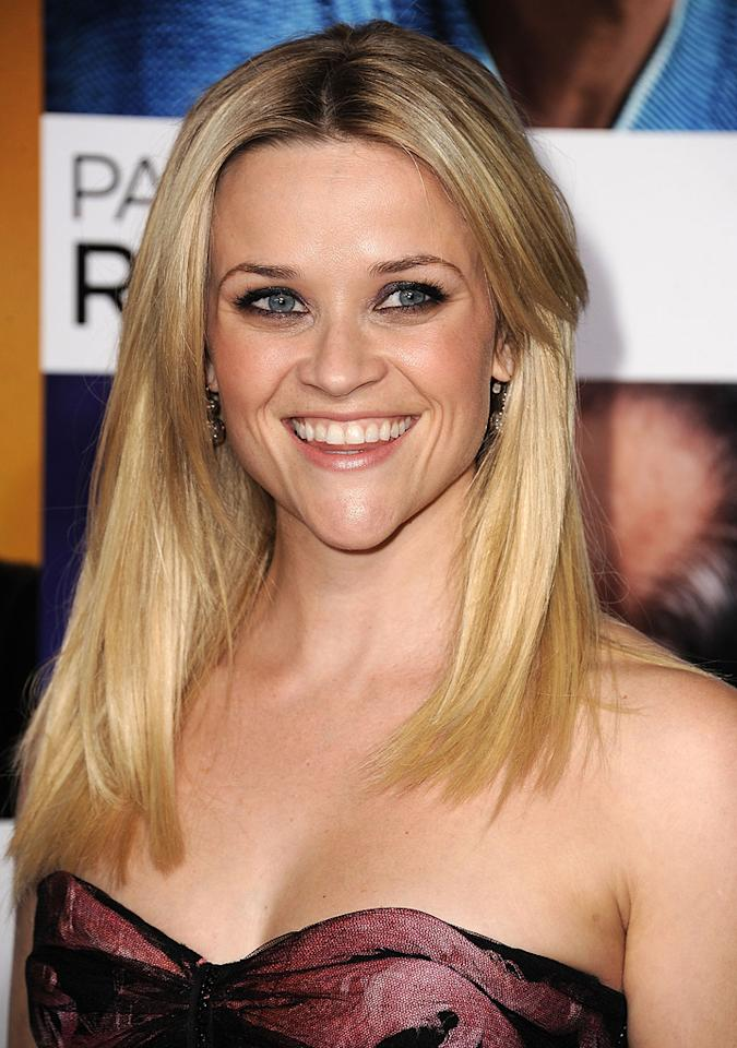 """<a href=""""http://movies.yahoo.com/movie/contributor/1800018812"""">Reese Witherspoon</a> at the Los Angeles premiere of <a href=""""http://movies.yahoo.com/movie/1810092348/info"""">How Do You Know</a> on December 13, 2010."""