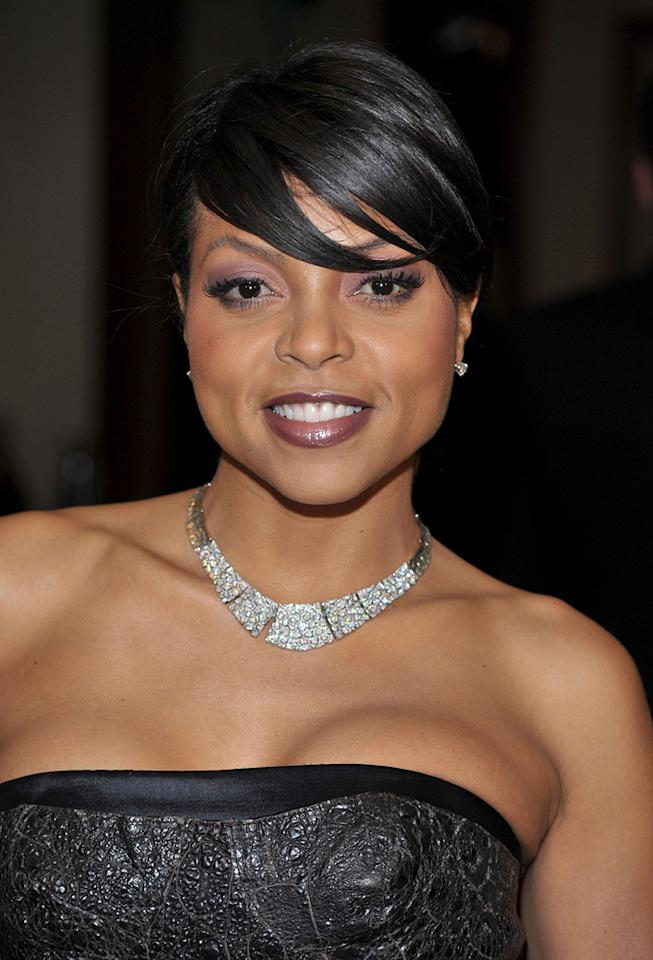 """<a href=""""http://movies.yahoo.com/movie/contributor/1804514499"""">Taraji P. Henson</a> at the 61st Annual Directors Guild of America Awards in Los Angeles - 01/31/2009"""