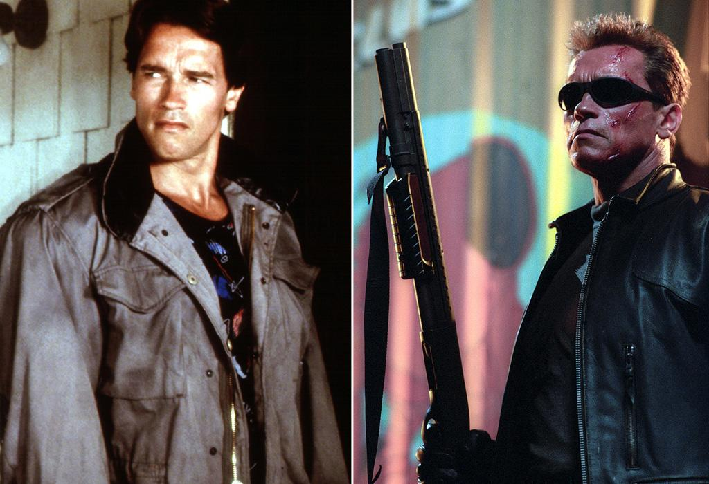 """FIRST MOVIE: <a href=""""http://movies.yahoo.com/movie/1800026145/info"""">The Terminator</a> (1984)  LATEST MOVIE: <a href=""""http://movies.yahoo.com/movie/1807428619/info"""">Terminator 3: Rise of the Machines</a> (2003)   If the Terminator is a cyborg -- living tissue over a mechanical skeleton -- and there are many copies of the same model, why does the one in the third movie look so much different than the one in the original?"""