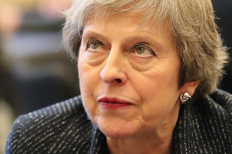 British Prime Minister Theresa May faces a tough task to push the Brexit deal through parliament (AFP Photo/Liam McBurney)