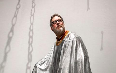Vic Reeves gets into the Bauhaus spirit - Credit: Timothy Foster/BBC