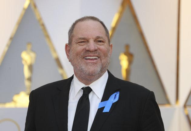 Harvey Weinstein at the 89th Academy Awards on Feb. 26, 2017.