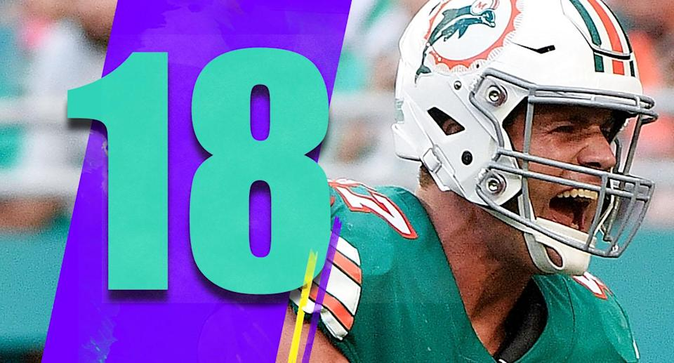 <p>The Dolphins are 6-6 and one of the strangest wild-card contenders you'll find. They're not very good, but they're still alive. (Kiko Alonso) </p>