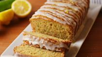 """<p>Basically spring in a bread.<br></p><p>Get the recipe from <a href=""""https://www.delish.com/cooking/recipe-ideas/recipes/a52801/lemon-zucchini-bread-recipe/"""" rel=""""nofollow noopener"""" target=""""_blank"""" data-ylk=""""slk:Delish"""" class=""""link rapid-noclick-resp"""">Delish</a>.</p>"""