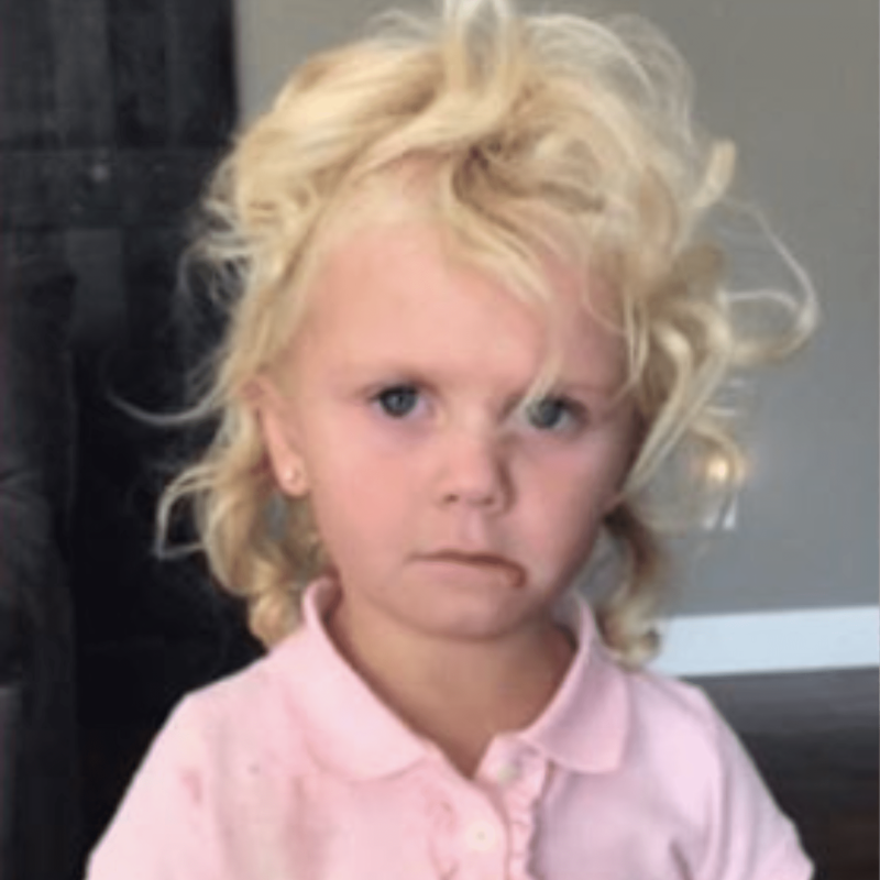 A Little Girl's Hilarious Before-and-After School Photos Prove She Had One Heck of a Day