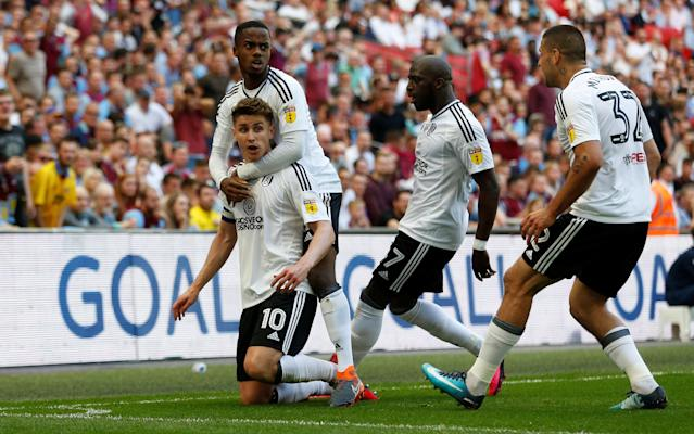 Fulham beat Aston Villa on Tom Cairney's goal in the promotion playoff final. (Reuters)