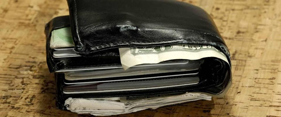 Photo of an Overstuffed Wallet