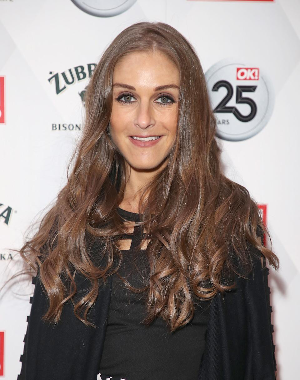 Nikki Grahame attends OK! Magazine's 25th Anniversary Party at The View from The Shard on March 21, 2018 in London, England.  (Photo by Mike Marsland/WireImage)