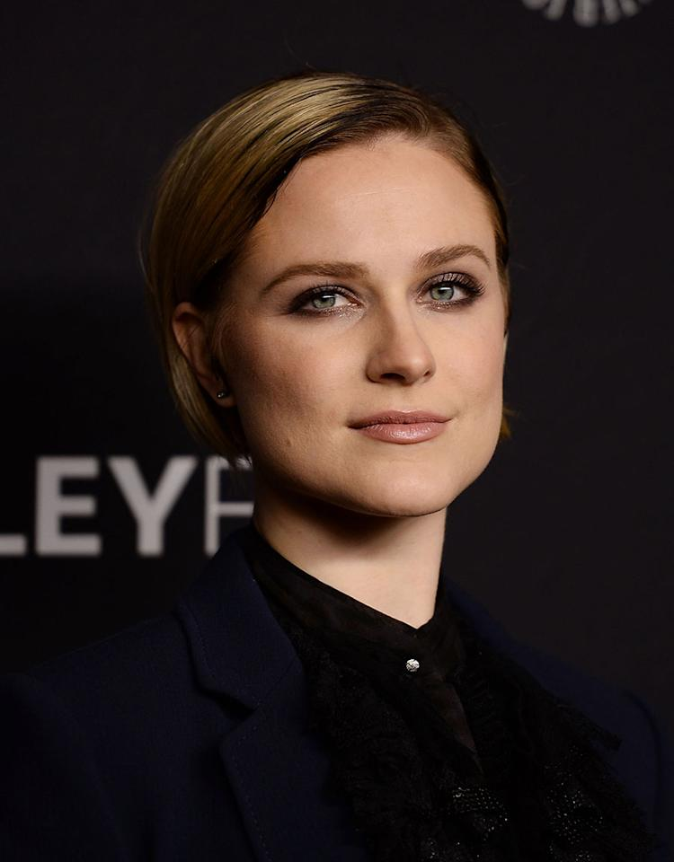 <p>Actress Evan Rachel Wood went from long to short hair and doesn't show any signs of going back. (Photo: WireImage) </p>