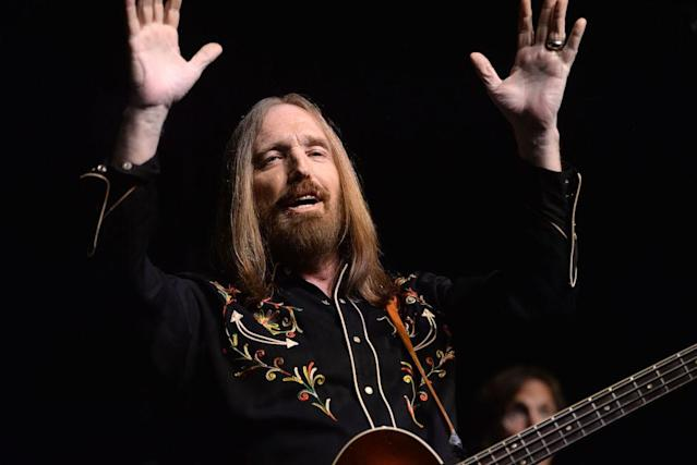 Tom Petty performing at Los Angeles' Fonda Theater in 2016. (Photo by Scott Dudelson/Getty Images)