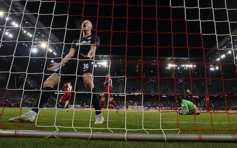 Erling Haaland of FC Salzburg reacts after failing to score during the UEFA Champions League group E soccer match between FC Salzburg and Liverpool FC - Credit: REX