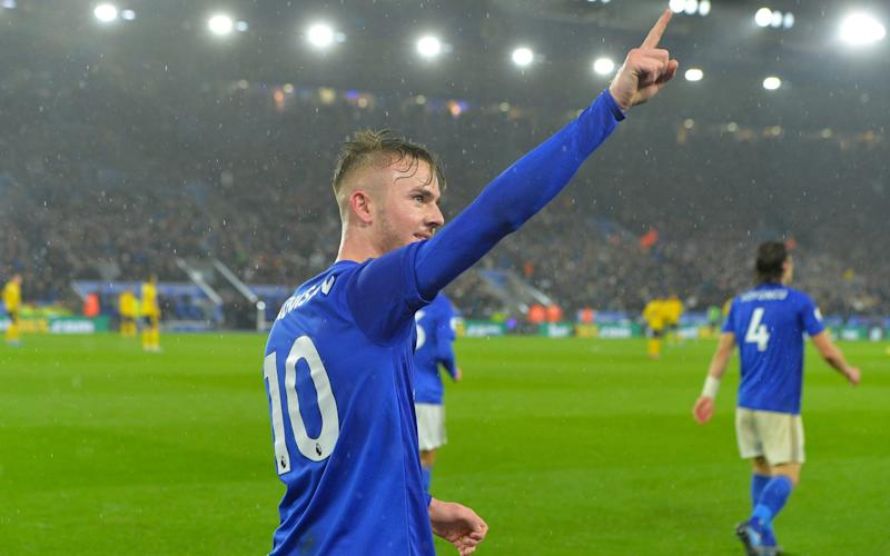 Leicester's James Maddison is set for an England debut this week - Leicester City FC