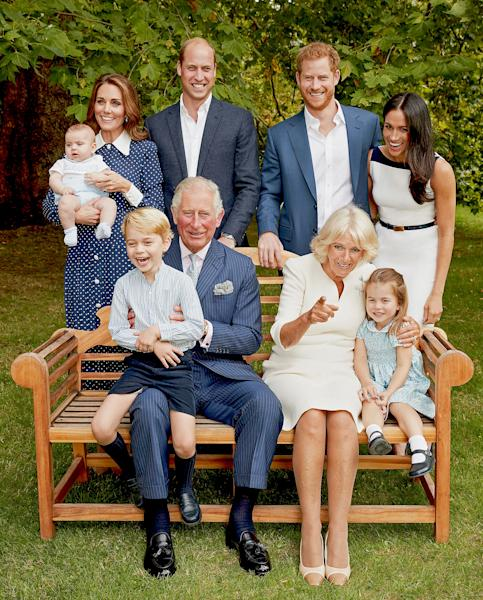 See the Royal Family's Most Candid Photo Ever