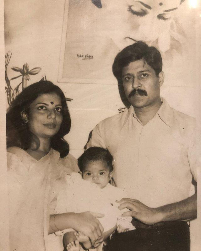 """<p>Upon discovering this photo of herself as a baby with her parents, <a href=""""https://www.elle.com/uk/life-and-culture/culture/a28260069/priyanka-chopra-jonas-cover-august-2019/"""" rel=""""nofollow noopener"""" target=""""_blank"""" data-ylk=""""slk:Priyanka Chopr"""" class=""""link rapid-noclick-resp"""">Priyanka Chopr</a>a shared it with her 43 million Instagram followers.</p><p><a href=""""https://www.instagram.com/p/BgnnKKDgQze/"""" rel=""""nofollow noopener"""" target=""""_blank"""" data-ylk=""""slk:See the original post on Instagram"""" class=""""link rapid-noclick-resp"""">See the original post on Instagram</a></p>"""