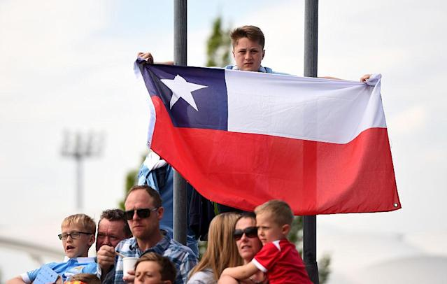 <p>No. 13: Chile<br>Mean test score: 432<br>(Photo by Laurence Griffiths/Getty Images) </p>