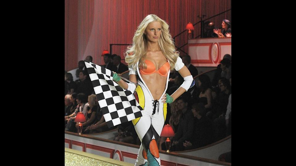 <p>Karolina Kurkova has walked in eight Victoria's Secret Fashion shows spanning from 2001 to 2010, and has worn the Fantasy Bra twice — first in 2002, and again in 2006. The Czech Republic-born model continues to star in ad campaigns and walk in high-end designer runway shows, and has been the face of such brands as Louis Vuitton, Valentino, Chanel, Tommy Hilfiger and Yves Saint Laurent.</p>