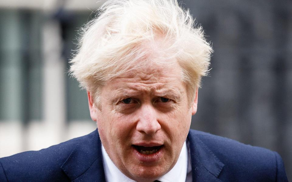 Boris Johnson has previously said he is 'hopeful' that families will be able to spend Christmas together - David Cliff/NurPhoto