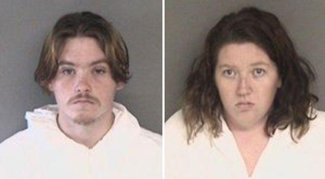 Daniel Gross, 19, and his girlfriend Melissa Leonardo, 25, (pictured) allegedly beat and stabbed Lizette Cuesta. Source: Alameda County Sheriff's Office