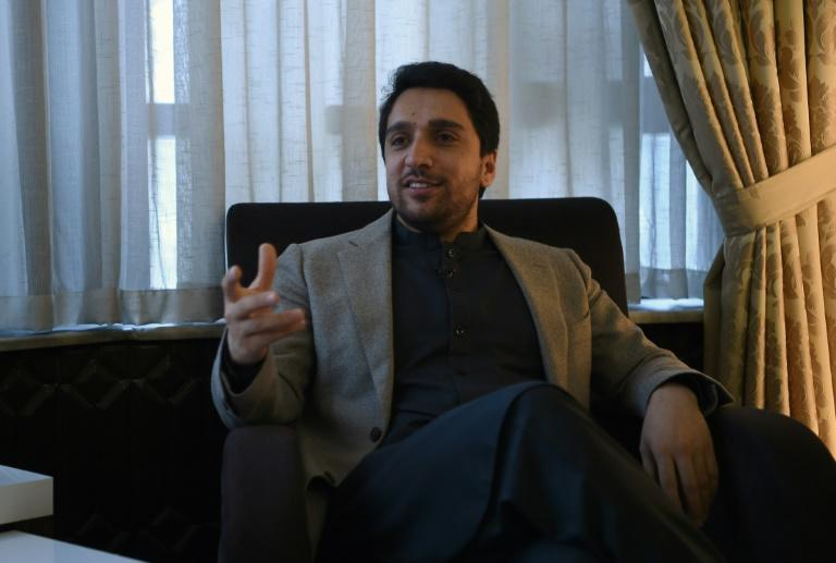 Ahmad Massoud, the son of renowned Afghan leader Ahmad Shah Massoud, now runs a foundation in his father's name (AFP Photo/Wakil KOHSAR)