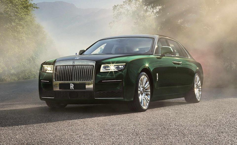"""<p>For 2021 Rolls-Royce introduced an all-new <a href=""""https://www.caranddriver.com/rolls-royce/ghost"""" rel=""""nofollow noopener"""" target=""""_blank"""" data-ylk=""""slk:Ghost"""" class=""""link rapid-noclick-resp"""">Ghost</a>, now riding on Rolls' own Architecture of Luxury instead of borrowing a platform from the BMW 7-series like the pervious generation. Some things haven't changed, though—the Ghost still packs a 6.7-liter V-12 under the hood and weighs more than 5500 pounds, contributing its dismal fuel economy. While highway miles per gallon went up by one to 19 mpg in the new model, the combined rating remains at 14 mpg. At least Ghost owners can lounge in the spacious and opulent backseat while the hired help refills the tank. </p><ul><li>Base price: $314, 400 </li><li>Engine: 563-hp twin-turbo 6.7-liter V-12 engine, eight-speed automatic transmission</li><li>EPA Fuel Economy combined/city/highway: 14/12/19 mpg</li></ul><p><a class=""""link rapid-noclick-resp"""" href=""""https://www.caranddriver.com/rolls-royce/ghost/specs"""" rel=""""nofollow noopener"""" target=""""_blank"""" data-ylk=""""slk:MORE GHOST SPECS"""">MORE GHOST SPECS</a></p>"""