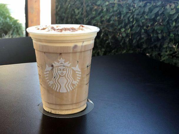 PHOTO: The Pumpkin Cream Cold Brew features Starbucks Cold Brew, pumpkin cold foam and pumpkin spice. (Angeline Bernabe/ABC)