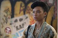 """<p>Based on Justin Simien's celebrated film of the same name, the series follows Samantha White (Logan Browning) at her predominantly white Ivy League college. Each season, Sam's character grapples with frequent cyberbullying as the host of <em>Dear White People</em>, a politically-charged radio show that covers Black identity in response to racism on campus. </p><p><a class=""""link rapid-noclick-resp"""" href=""""https://www.netflix.com/title/80095698"""" rel=""""nofollow noopener"""" target=""""_blank"""" data-ylk=""""slk:Watch Now"""">Watch Now</a><br></p>"""