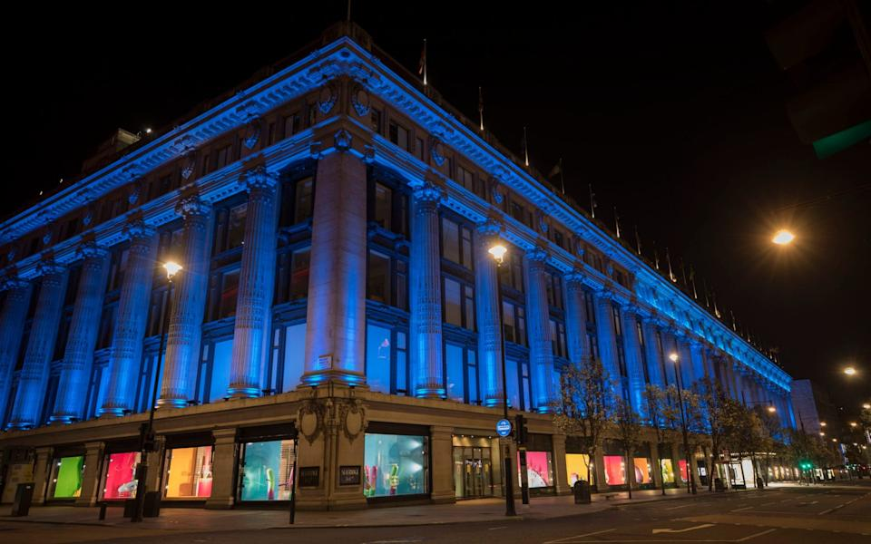 Selfridges - Jason Alden/ New West End Company/PA