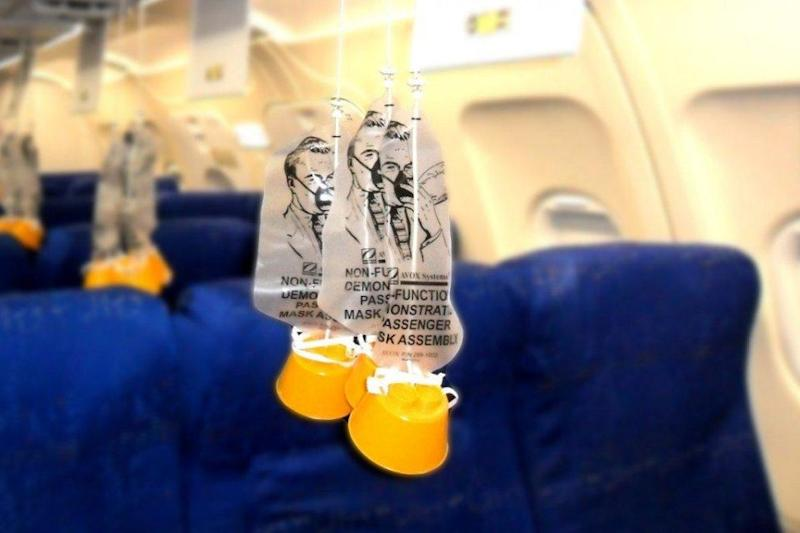 The truth about oxygen masks might shock you. Photo: Getty