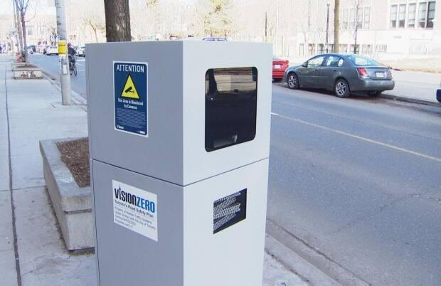 Toronto's automated speed enforcement cameras issued a total of 81,557 tickets in the first three months of 2021, the city says. (CBC - image credit)