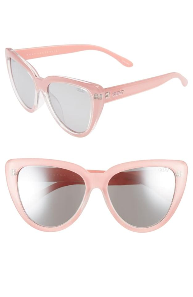 """<p>I've had these sturdy, oversized <a href=""""https://www.popsugar.com/buy/Quay-Australia-Stray-Cat-Mirrored-Cat-Eye-Sunglasses-476190?p_name=Quay%20Australia%20Stray%20Cat%20Mirrored%20Cat%20Eye%20Sunglasses&retailer=shop.nordstrom.com&pid=476190&price=55&evar1=fab%3Aus&evar9=46461402&evar98=https%3A%2F%2Fwww.popsugar.com%2Ffashion%2Fphoto-gallery%2F46461402%2Fimage%2F46461574%2FQuay-Australia-Stray-Cat-Mirrored-Cat-Eye-Sunglasses&list1=shopping%2Ctravel%2Chawaii%2Ceditors%20pick%2Cpacking%20list%2Csummer%20fashion%2Cbeach%20vacation%2Cvacation%20style%2Cpacking%20tips&prop13=api&pdata=1"""" rel=""""nofollow"""" data-shoppable-link=""""1"""" target=""""_blank"""" class=""""ga-track"""" data-ga-category=""""Related"""" data-ga-label=""""https://shop.nordstrom.com/s/quay-australia-stray-cat-58mm-mirrored-cat-eye-sunglasses/5006948?origin=category-personalizedsort&amp;breadcrumb=Home%2FBrands%2FQuay%20Australia&amp;color=peach%2F%20gradual%20flash%20mirror"""" data-ga-action=""""In-Line Links"""">Quay Australia Stray Cat Mirrored Cat Eye Sunglasses </a> ($55) for over a year with no wear or tear. I like the large frames for blocking out rays.</p>"""