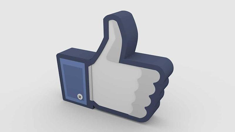 Facebook thumbs up like