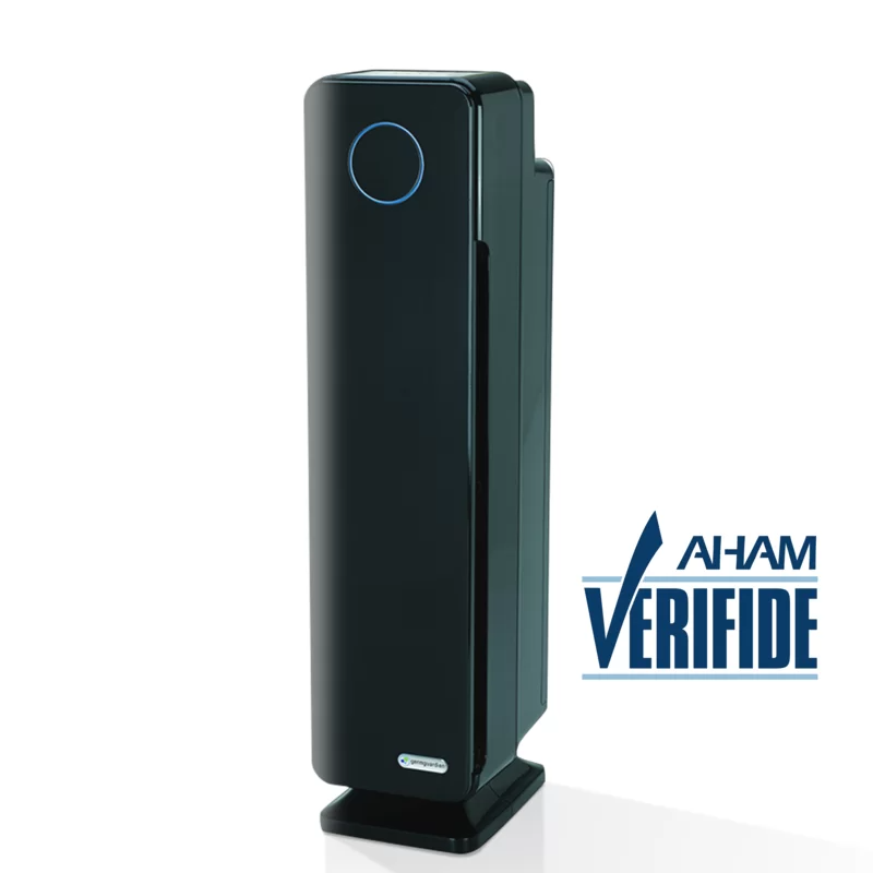"""<h3>GermGaurdian HEPA Filter Air Purifier</h3><br>Streamlined for tighter living spaces with an incognito all-white design, this HEPA-filter device is engineered to reduce up to 99.97% of harmful toxins in the air while also neutralizing odor.<br><br><em>Shop <a href=""""https://www.wayfair.com/brand/bnd/germguardian-b20998.html"""" rel=""""nofollow noopener"""" target=""""_blank"""" data-ylk=""""slk:GermGuardian"""" class=""""link rapid-noclick-resp"""">GermGuardian</a></em><br><br><strong>GermGuardian</strong> HEPA Filter Air Purifier, $, available at <a href=""""https://go.skimresources.com/?id=30283X879131&url=https%3A%2F%2Fwww.wayfair.com%2Fhome-improvement%2Fpdp%2Fgermguardian-elite-room-true-hepa-air-purifier-with-uv-sanitizer-and-odor-reduction-bnd2903.html"""" rel=""""nofollow noopener"""" target=""""_blank"""" data-ylk=""""slk:Wayfair"""" class=""""link rapid-noclick-resp"""">Wayfair</a>"""