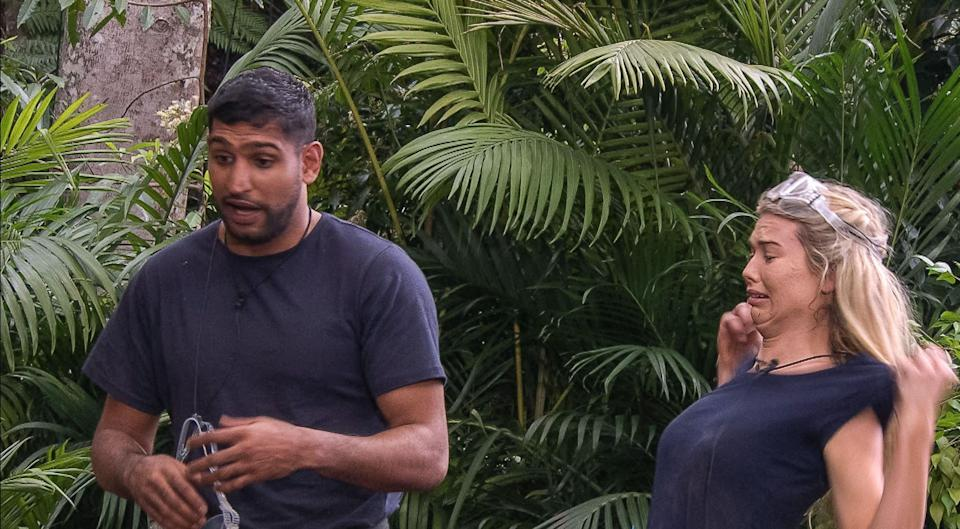 Amir Khan took part in the trial with Made in Chelsea's Toff. Copyright [ITV/REX/Shutterstock]