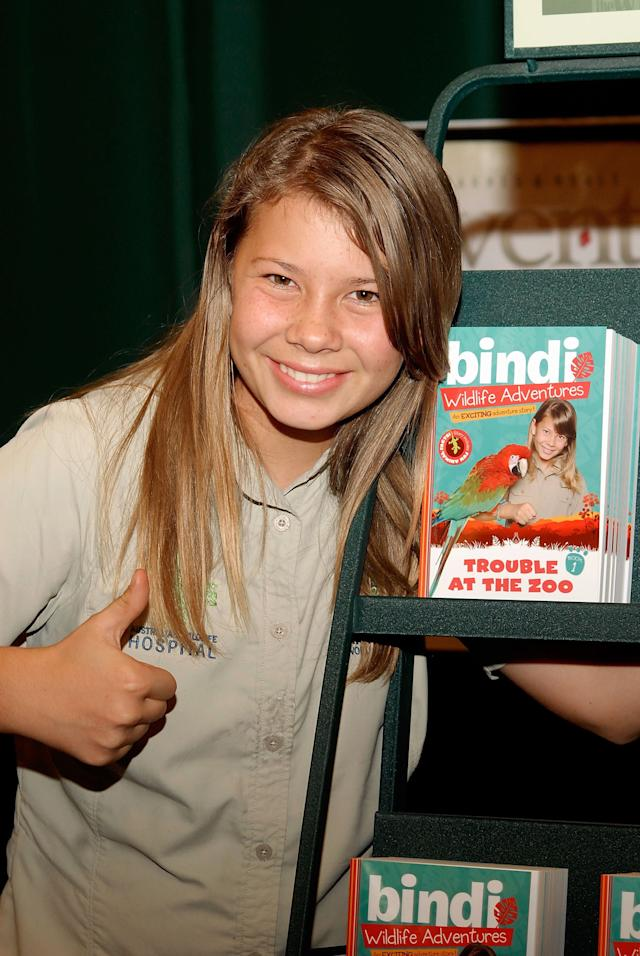 "<span>Bindi Irwin</span> carried on her father Steve Irwin's conservation legacy following his death in 2006. When she was 8 years old, she launched ""Bindi the Jungle Girl"" to encourage more kids to get interested in animals and wildlife conservation. She has continued to make TV appearances, published books and furthered her father's causes."
