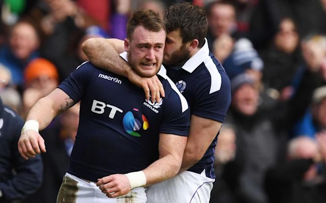 <span>Stuart Hogg could be the only Scottish pick</span> <span>Credit: AFP </span>