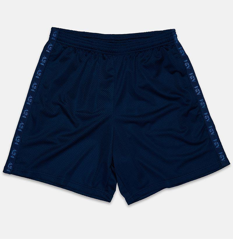 """<p><strong>A24</strong></p><p>a24films.com</p><p><strong>$48.00</strong></p><p><a href=""""https://shop.a24films.com/products/blue-gym-shorts"""" rel=""""nofollow noopener"""" target=""""_blank"""" data-ylk=""""slk:Buy"""" class=""""link rapid-noclick-resp"""">Buy</a></p><p>Hit the home gym in shorts approved by like your favorite indie stars. </p>"""